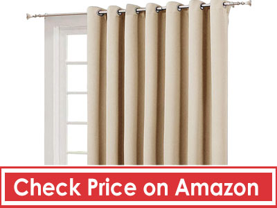 NICETOWN Extra Wide Patio Door Curtain