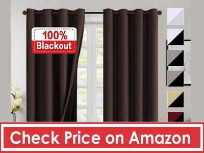 Flamingo P 100% Blackout Curtains